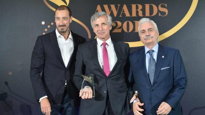 """Gold prize awarded to SFEE for its social initiative """"proSfEEroume"""" implemented in collaboration with the Hellenic Red Cross"""